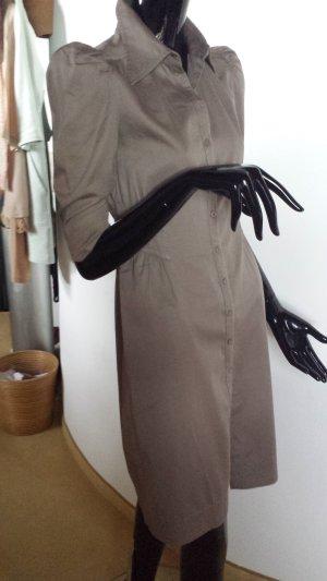 H&M M By Madonna Robe chemise marron clair coton
