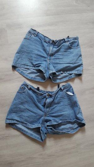 H&M Mama Jeansshorts Shorts Sommer Größe L verstellbar
