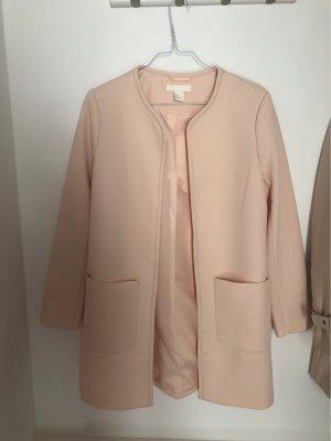 H&M Abrigo corto rosa