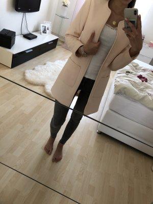 H&M Abrigo corto color rosa dorado