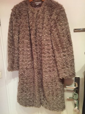 H&M Mantel Fake Fur Fellimitat Gr. 42