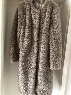 H&M Mantel Fake Fur Gr. 42 wie Neu