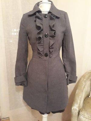 H&M Mantel grau gr.34 XS Barock edel vintage