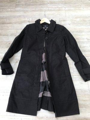 H&M Mantel in schwarz