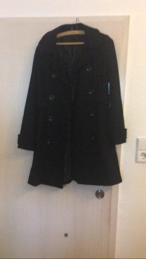 H&M Mantel in schwarz Gr. 38