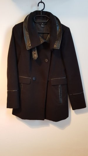H&M Mantel Jacke Gr.36 schwarz