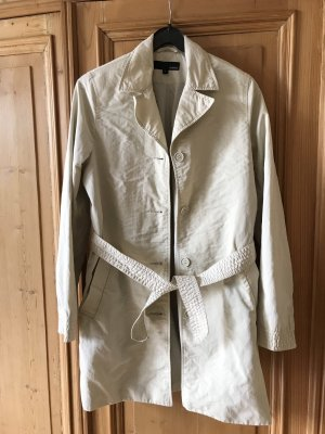 H&M Mantel Jacke Trenchcoat Gr  S beige