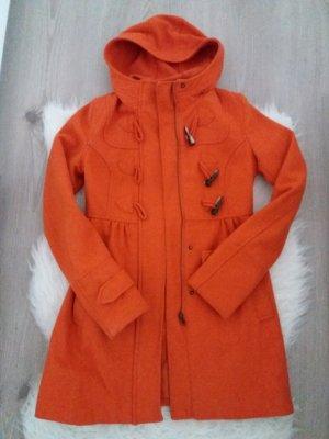 H&M Mantel Jacke Übergang Herbst 34 36 XS S Orange