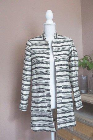 H&M Mantel leichte Jacke gestreift 34 XS