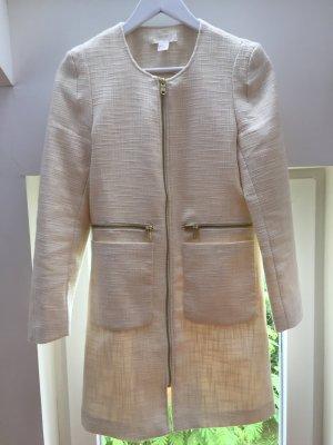 H&M Mantel naturweiß