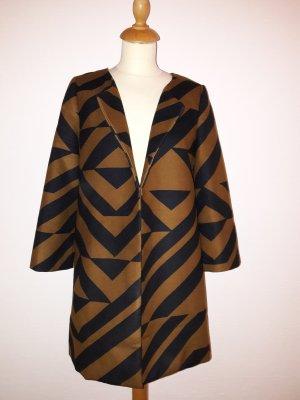 H&M Mantel offen Block S 36 ein mal getragen wie neu