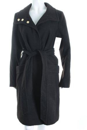 H&M Mantel schwarz Eleganz-Look