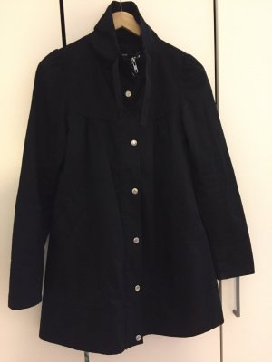 H&M Mantel schwarz Gr. 34