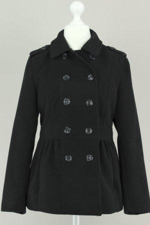 H&M Mantel schwarz Größe 40 1711050140372
