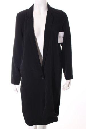 H&M Mantel schwarz Street-Fashion-Look