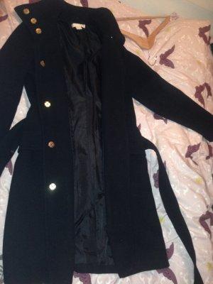H&m Mantel schwarz wie neu 34