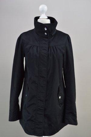 H&M Mantel Übergangsjacke schwarz Größe 34