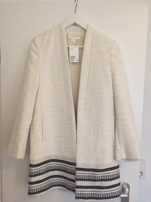 H&M Short Coat natural white