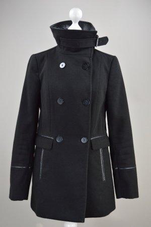 H&M Mantel Winterjacke schwarz Größe 34