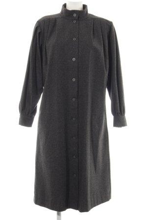 H&M Marimekko Wollmantel silberfarben meliert Elegant