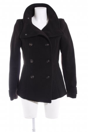 H&M Marinejacke schwarz Segel-Look