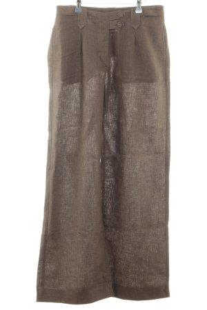 H&M Pantalone Marlene marrone stile casual