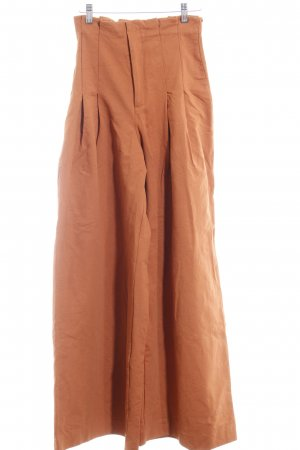 H&M Marlene Trousers dark orange street-fashion look