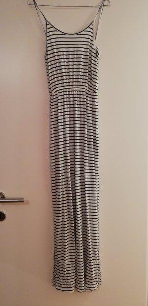 H&M Maxi abito bianco-nero