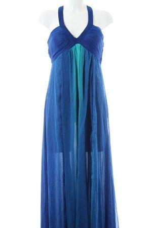 H&M Maxikleid blau-türkis
