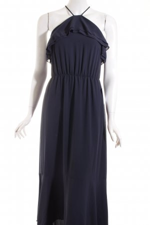 H&M Maxikleid dunkelblau-blau klassischer Stil