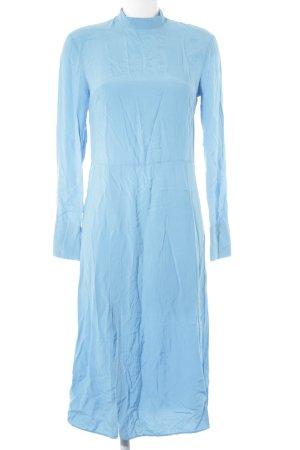H&M Maxikleid hellblau extravaganter Stil