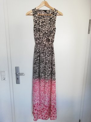 H&M Maxikleid im Leoprint in Gr. 34