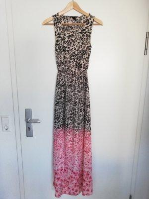 H&M Robe longue multicolore