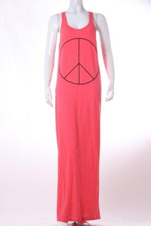 H&M Maxikleid mit Peacezeichen