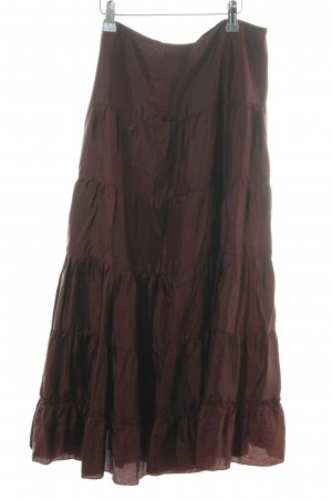 H&M Maxi Skirt brown elegant