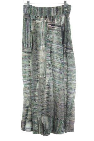 H&M Maxirock abstraktes Muster extravaganter Stil