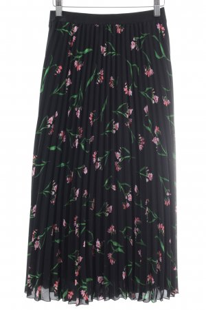H&M Maxi Skirt flower pattern casual look