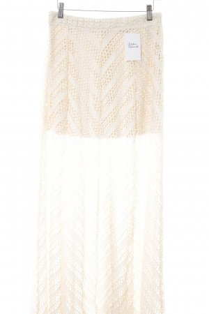 H&M Maxi Skirt cream Boho look