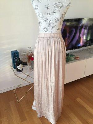 H&M Maxi Skirt pink-nude