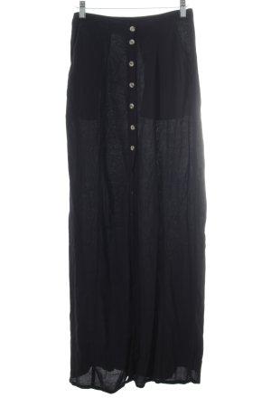 H&M Jupe longue noir style décontracté