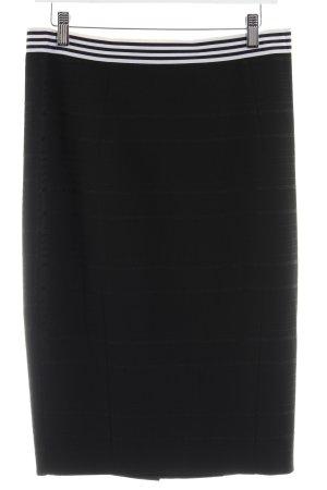 H&M Maxirock schwarz Elegant