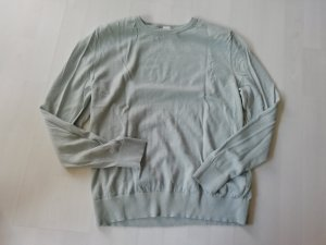 H&M Jersey de lana verde grisáceo