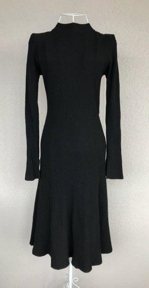 H&M Midi Kleid schwarz Gr.XS