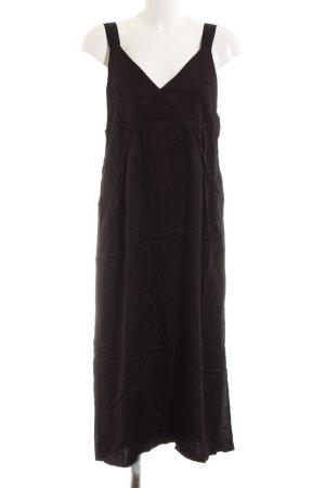 H&M Midi-jurk bruin casual uitstraling
