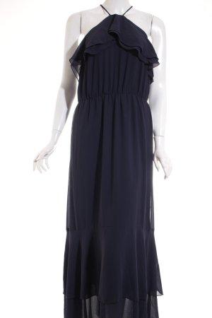 H&M Midi-jurk blauw elegant