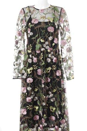 H&M Midikleid Blumenmuster Elegant