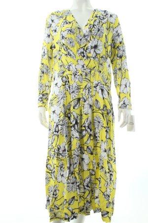 H&M Midikleid Blumenmuster extravaganter Stil