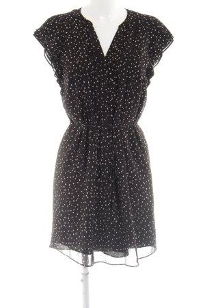 b329784df0 H&M Robe mi-longue noir-blanc motif de tache style mode des rues. H&M. Taille  38