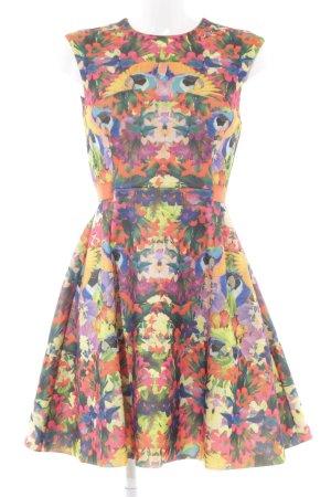 H&M Midi Dress mixed pattern extravagant style