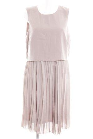 H&M Vestido a media pierna rosa look casual